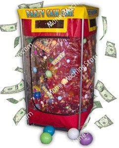 Budget Party Cash Cube Money Machine
