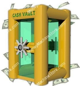 Vault Inflatable Money Machine