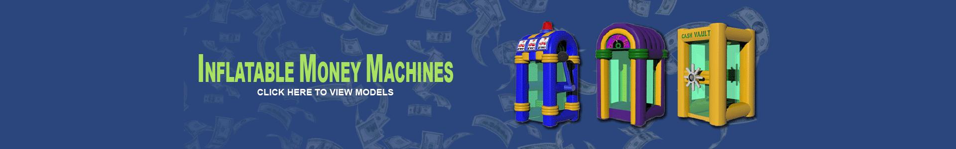 Money Machine Cash Cube - National Rentals and Sales